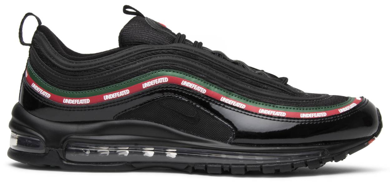 black air max 97 undefeated